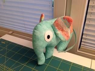 Makerist - Elefantenmädchen mit Knisterohren - 1