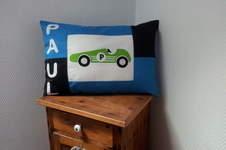 Makerist - Kissen mit Rennwagen - 1