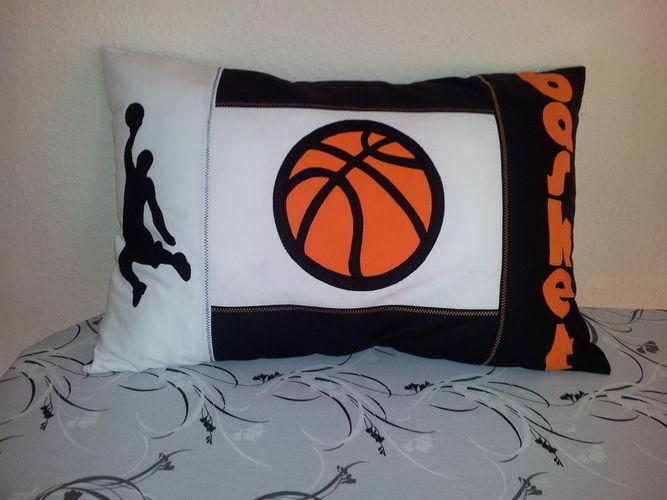 Makerist - Kissen mit Basketball Motiv - Nähprojekte - 1