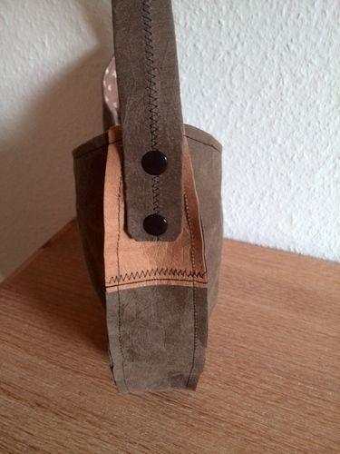 Makerist - Schultertasche aus SnapPap - Nähprojekte - 2