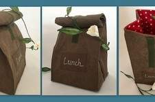 Makerist - Lunchbag aus SnapPap (veganes Leder)  - 1