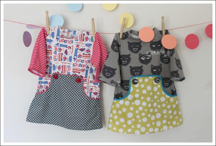 Makerist - Louisa Dress aus Jersey und Baumwolle gemixt - Nähprojekte - 1