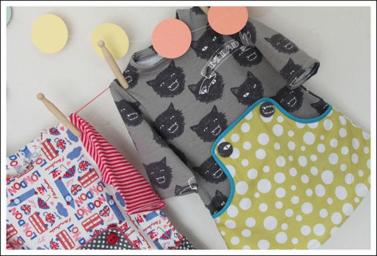 Makerist - Louisa Dress aus Jersey und Baumwolle gemixt - Nähprojekte - 2
