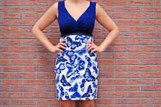 Makerist - Jerseykleid mit V-Ausschnitt - 1