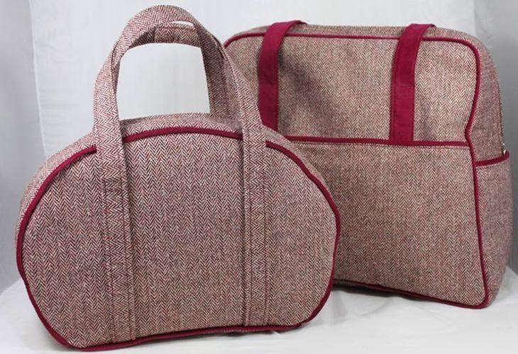 Makerist - Reiseset / Weekender und Handtasche - Nähprojekte - 1
