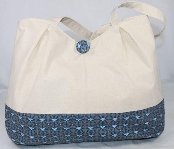Makerist - drei Taschen mit Kellerfalten - Nähprojekte - 1