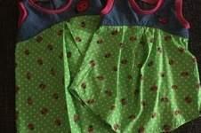 Makerist - Sommerkleidchen/Tunika Elea   / 2 Enkelinnen - 2 Kleidchen :-) - 1