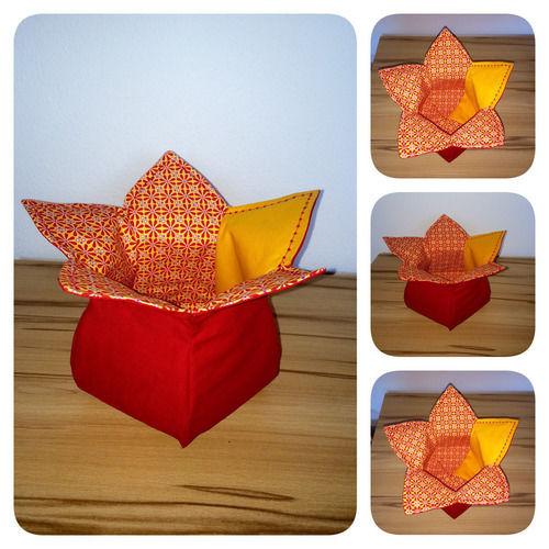 Makerist - Blüten-Körbchen - Nähprojekte - 1