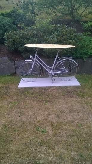 Diy Fahrrad-Tisch