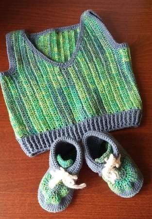 Makerist - Babypulunder mit passenden Schuhen - 1