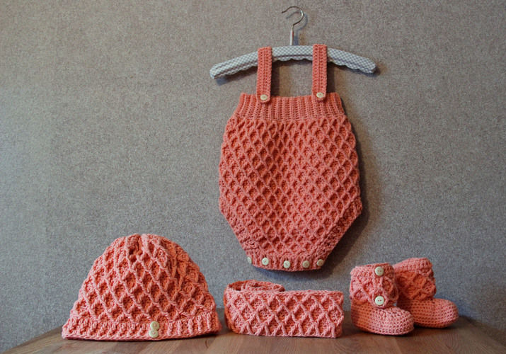 Makerist - Zauberhaftes Babyset mit Do it with love - Häkelprojekte - 1