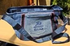 Makerist - Handtasche aus crazy Jeans Patchwork - 1