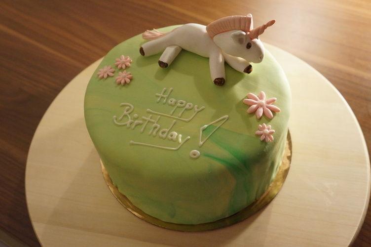 Makerist - Einhorn Regenbogen Torte - Torten, Cake Pops und Cupcakes - 1