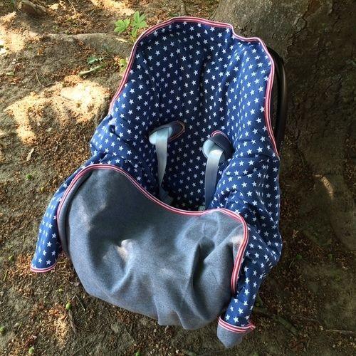 Makerist - Decke für Babys im Autositz - Nähprojekte - 1