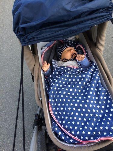 Makerist - Decke für Babys im Autositz - Nähprojekte - 2