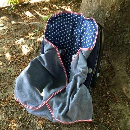 Makerist - Decke für Babys im Autositz - Nähprojekte - 3