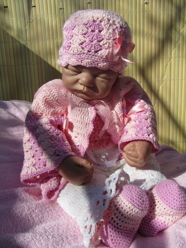 Makerist - Babyjacke - Häkelprojekte - 3