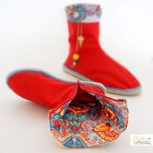 Makerist - Stiefel mit Espadrilles Sohlen nähen - 1