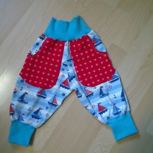 Makerist - Jerseyhose für kleine Seemänner - Nähprojekte - 1