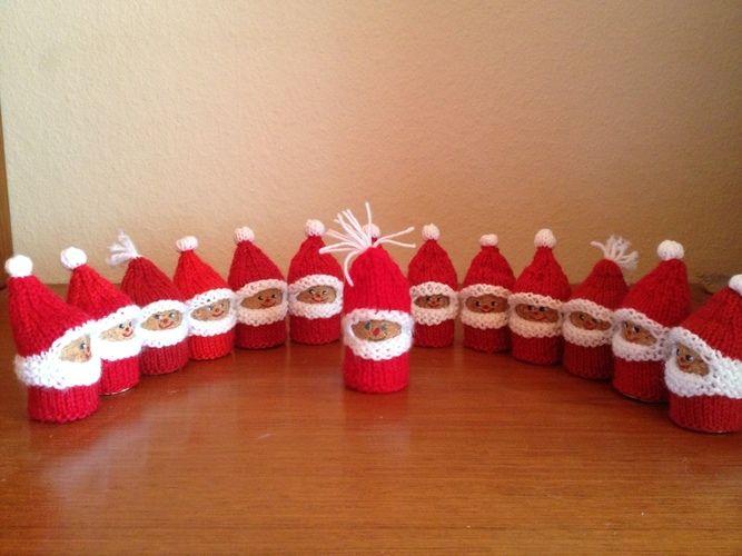 Makerist - Weihnachtsmänner - Strickprojekte - 1