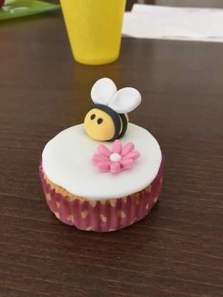Fondant Muffin