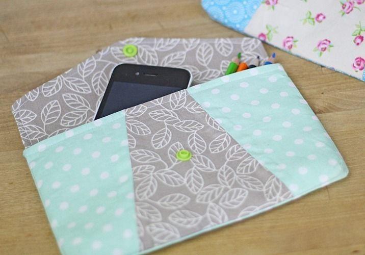 Makerist - Geometrische Tasche - Nähprojekte - 1