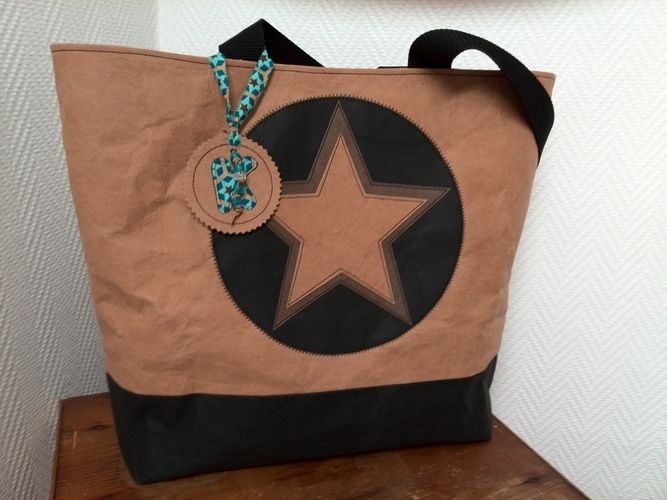 Makerist - Snap Pap Tasche mit doppeltem Stern :)  - Nähprojekte - 1