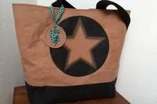 Makerist - Snap Pap Tasche mit doppeltem Stern :)  - 1