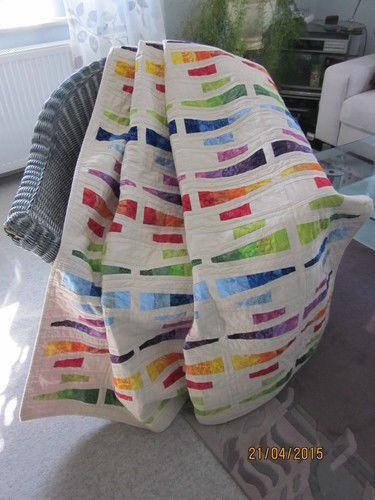 Makerist - Kuscheldecke für mein Patenkind zur Hochzeit - Patchwork-Projekte - 1