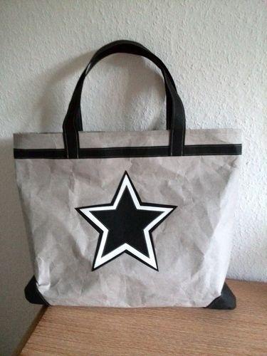 Makerist - Shopper Stern aus Snap Pap - Nähprojekte - 1