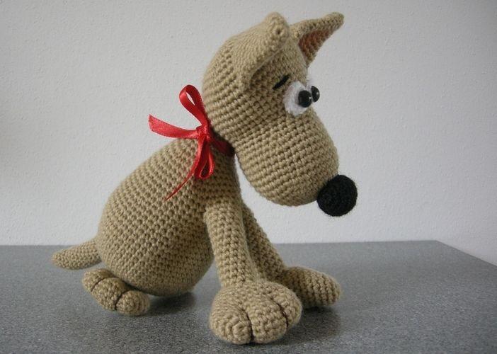 Makerist - was für ein Hundeblick - Häkelprojekte - 2
