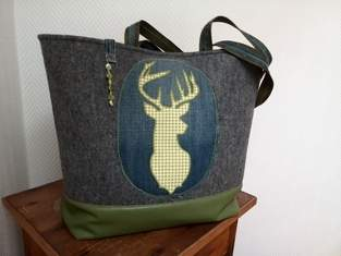 Makerist - Hirsch Tasche..... der Wald ruft :) - 1
