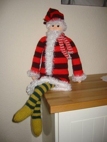 Makerist - Weihnachtsmann - Strickprojekte - 1