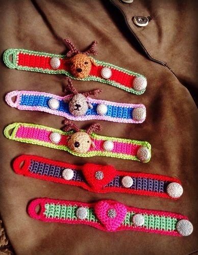 Makerist - Oktoberfest-Armbänder - Häkelprojekte - 3