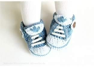 "Makerist - Babyschuhe ""Jeans"" - 1"