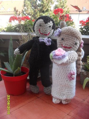 Makerist - Brautpaar - Häkelprojekte - 1