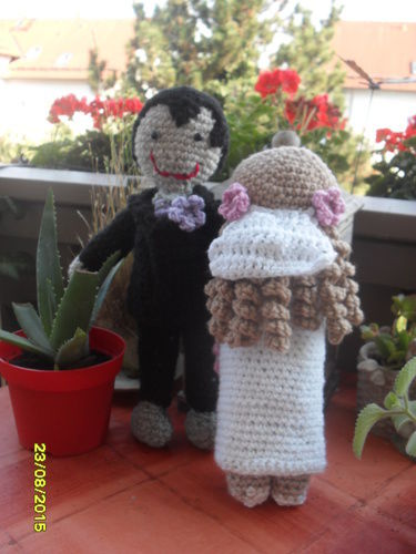 Makerist - Brautpaar - Häkelprojekte - 2