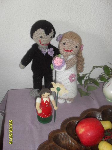 Makerist - Brautpaar - Häkelprojekte - 3
