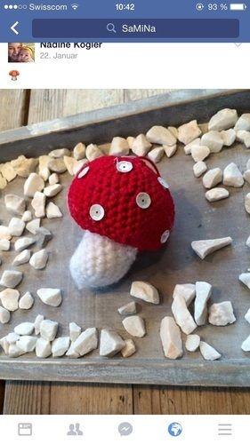 Makerist - Häkel-Pilze - Häkelprojekte - 1