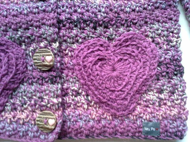Makerist - Trachtenjacke für Mädchen - Häkelprojekte - 3