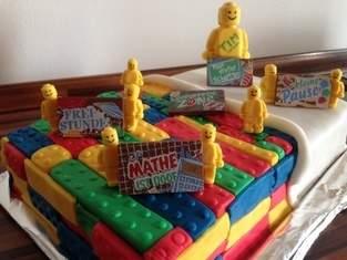 Makerist - Legotorte - 1