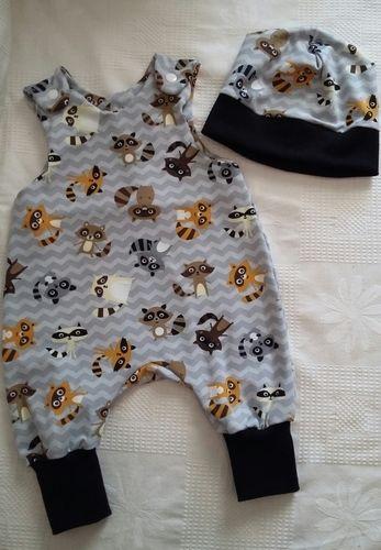 Makerist - Babystrampler + Mütze - Nähprojekte - 1