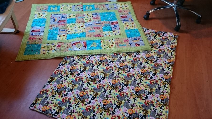 Makerist - Juniors Lieblingsplatz - Patchwork-Projekte - 1