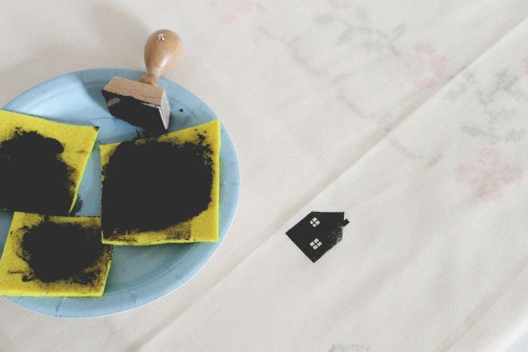 Makerist - Rideau tamponné - Créations de couture - 3