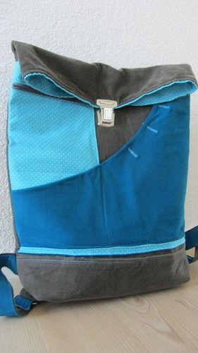 Makerist - Rucksack - Farbig durch den Sommer - Nähprojekte - 1