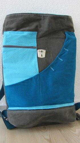 Makerist - Rucksack - Farbig durch den Sommer - Nähprojekte - 2