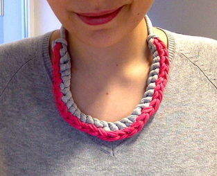 Makerist - Collier crocheté - 1