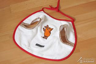 Makerist - Ärmel Lätzchen mit der Maus - 1