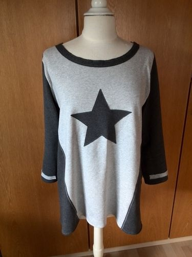 Makerist - Sweatshirt mit Stern - Nähprojekte - 1