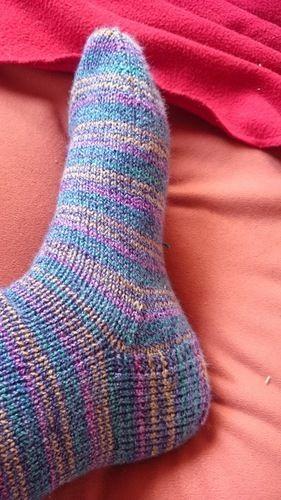 Makerist - Socken zweiter Versuch - Strickprojekte - 1